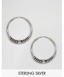 Kingsley Ryan | Серебряные Серьги-Кольца Bali