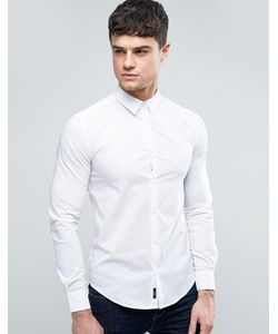 ARMANI JEANS | Узкая Рубашка С Однотонным Логотипом
