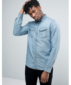 Pepe Jeans London | Джинсовая Рубашка В Стиле Вестерн