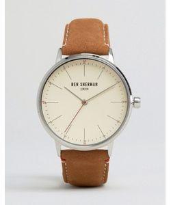 Ben Sherman | Часы Со Светло-Коричневым Кожаным Ремешком