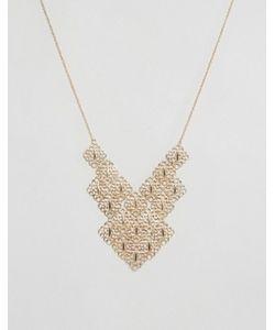 NYLON | Броское Многоярусное Ожерелье С Гравировкой