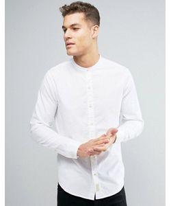 Hollister | Классическая Оксфордская Рубашка С Логотипом