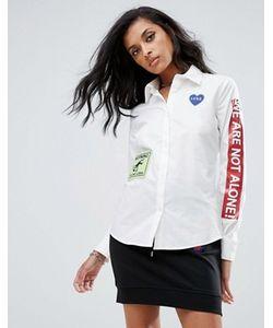 Love Moschino | Рубашка С Нашивками