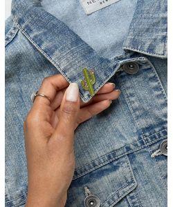 ZERO GRAVITY   Cactus Pin Badge