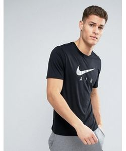 Nike | Черная Футболка С Логотипом Air 834692-010