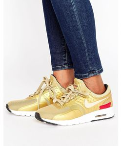Nike | Золотистые Кроссовки Air Max Zero