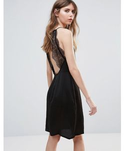 ICHI | Платье С Кружевом На Спине