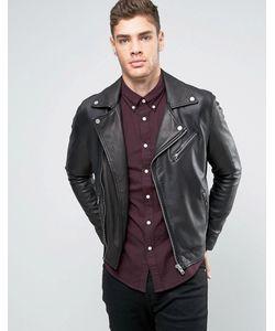 Lee | Кожаная Байкерская Куртка Perfecto