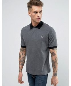 Fred Perry Laurel Wreath | Fred Perry Reissues Polo Pique Contrast Collar In Marl