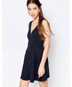 Hazel | Кружевное Короткое Приталенное Платье
