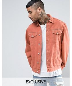 Reclaimed Vintage | Джинсовая Куртка Оранжевого Цвета