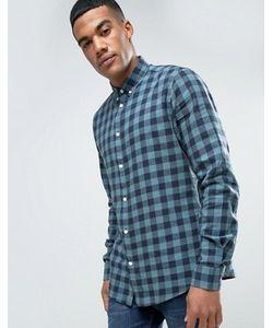 Solid | Фланелевая Рубашка Классического Кроя В Клетку