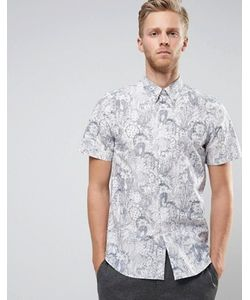 PS PAUL SMITH | Рубашка С Короткими Рукавами И Цветочным Принтом Ps By Paul
