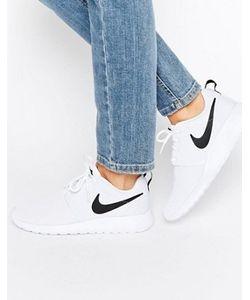 Nike | Черно Кроссовки Roshe