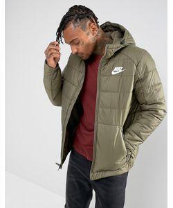 Nike   Зеленая Куртка С Капюшоном 861786-222
