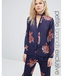 Alter Petite | Блузка В Пижамном Стиле С Цветочным Принтом