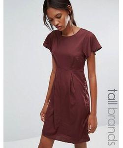Vero Moda Tall | Платье С Оборками На Рукавах Emma