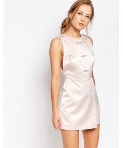 Keepsake | Цельнокройное Платье С Декоративной Отделкой