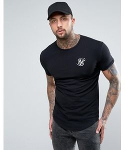 SikSilk | Muscle Fit T-Shirt In