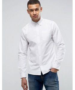 D-Struct | Хлопковая Оксфордская Рубашка С Длинными Рукавами