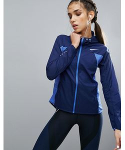 Nike | Синяя Ветровка