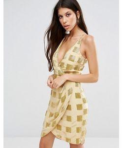 Virgos Lounge | Платье С Драпировкой Спереди Aimee