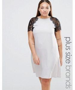 Praslin | Платье Размера Плюс С Кружевными Рукавами Plus