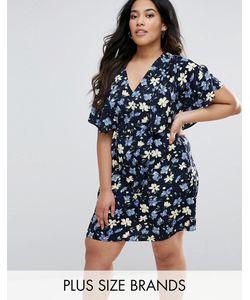 Yumi Plus | Платье С Цветочным Принтом