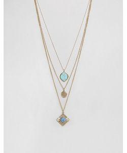 Ashiana | Ярусное Ожерелье