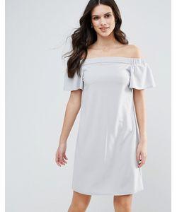 AX Paris | Цельнокройное Платье-Бандо С Оборками