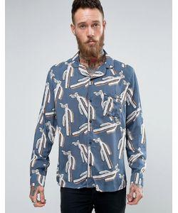 Brooklyn Supply Co. | Рубашка С Отложным Воротником И Принтом Brooklyn Supply Co