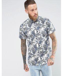 Selected Homme | Рубашка Классического Кроя С Короткими Рукавами И Гавайским Принтом