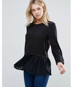 d.Ra   Рубашка Со Складками По Краю Leslie
