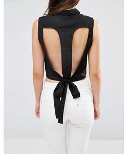 Vero Moda | Укороченная Рубашка С Вырезами Kayla