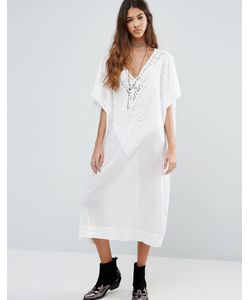Raga | Sweet Serenity Oversized Throw On Midi Dress
