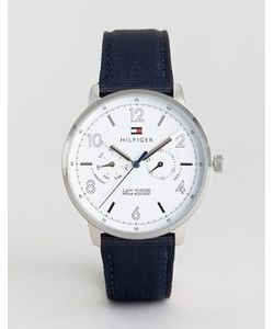 Tommy Hilfiger | Часы С Темно-Синим Ремешком 1791358 Nato