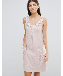 Jasmine | Платье А-Силуэта С Отделкой Стразами