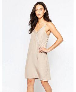 Minimum | Платье На Бретельках С Кружевной Отделкой Elmira