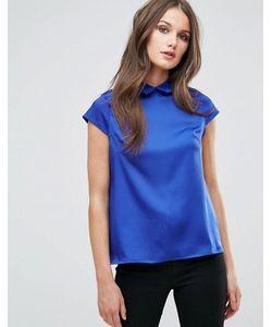 Vesper | Рубашка С Вырезом Под Горло И Кружевным Воротником