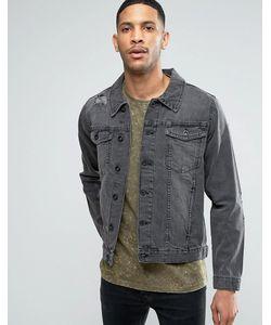 Threadbare | Черная Джинсовая Куртка