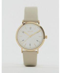 DKNY | Часы С Серым Кожаным Ремешком Minetta