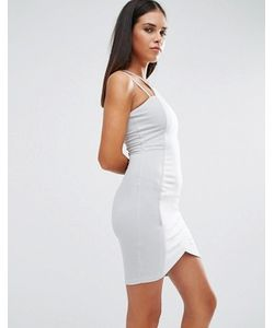 AX Paris | Облегающее Платье Мини С Асимметричной Кромкой