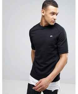 Nike | Черная Футболка С Короткими Рукавами Modern 805174-010