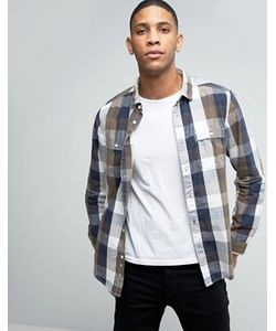 Esprit | Button Down Double Pocket Check Shirt