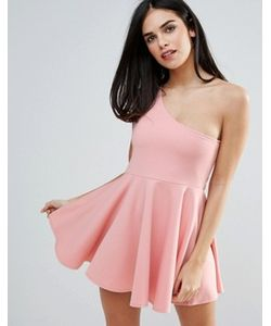 Unique 21 | Короткое Приталенное Платье На Одно Плечо
