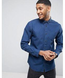 Selected Homme | Рубашка Классического Кроя Из Джинсового Твила
