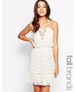 Vero Moda Tall | Кружевное Платье На Бретельках
