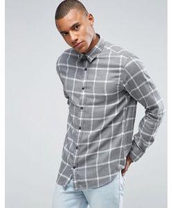 Selected Homme | Рубашка Классического Кроя В Клетку Из Хлопка С Начесом
