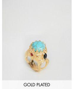 Ottoman Hands | Броское Кольцо С Полудрагоценным Камнем