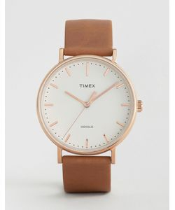 Timex | Часы С Кожаным Ремешком 41 Мм Fairfield